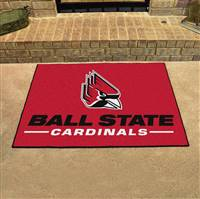 "Ball State Cardinals All-Star Rugs 34""x45"""