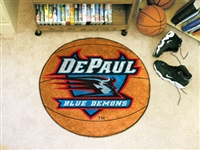 "DePaul Blue Demons Basketball Rug 29"" diameter"