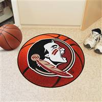 "Florida State Seminoles Basketball Rug 29"" Diameter"