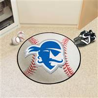 "Seton Hall University Baseball Mat 27"" diameter"