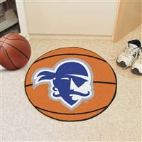 "Seton Hall University Basketball Mat 27"" diameter"