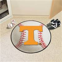 "University of Tennessee Baseball Mat 27"" diameter"