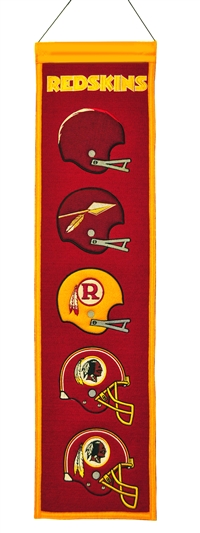 Washington Redskins Heritage Wool Banner