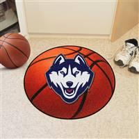"Connecticut Huskies UCONN Basketball Rug 29"" Diameter"