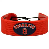 Washington Capitals Bracelet Team Color Jersey Alexander Ovechkin Design
