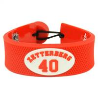 Detroit Red Wings Bracelet Team Color Jersey Henrik Zetterberg Design