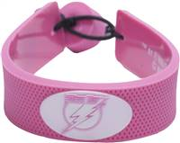 Tampa Bay Lightning Bracelet Pink Hockey