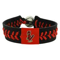 St. Louis Cardinals Bracelet Team Color Baseball Angry Bird Black