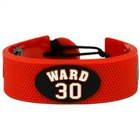 Carolina Hurricanes Bracelet Team Color Jersey Cam Ward Design
