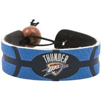 Oklahoma City Thunder Bracelet Team Color Basketball