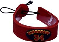 Colorado Avalanche Bracelet Team Color Jersey Miikka Kiprusoff Design