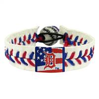 Detroit Tigers Bracelet Baseball Stars and Stripes