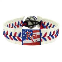 Kansas City Royals Bracelet Baseball Stars and Stripes