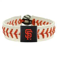 San Francisco Giants Bracelet Genuine Baseball