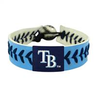 Tampa Bay Rays Bracelet Team Color Baseball Light Blue