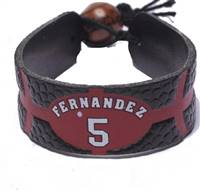 Portland Trail Blazers Bracelet Team Color Basketball Rudy Fernandez