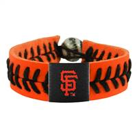 San Francisco Giants Bracelet Team Color Baseball Orange