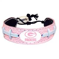 Green Bay Packers Bracelet Pink Football