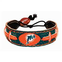 Miami Dolphins Bracelet Team Color Football