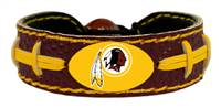 Washington Redskins Bracelet Team Color Football