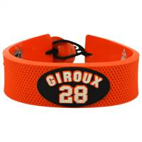 Philadelphia Flyers Bracelet Team Color Jersey Claude Giroux Design