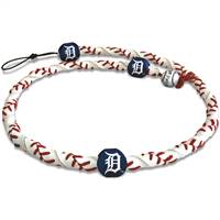 Detroit Tigers Necklace Frozen Rope Baseball