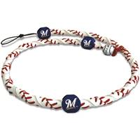 Milwaukee Brewers Necklace Classic Frozen Rope Baseball