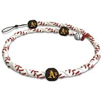 Oakland Athletics Classic Frozen Rope Baseball Necklace
