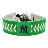 New York Yankees Bracelet Baseball St. Patrick's Day