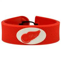 Detroit Red Wings Bracelet Team Color Hockey
