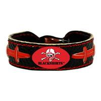 Nebraska Cornhuskers Bracelet Team Color Football Blackshirts