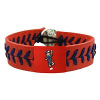 Milwaukee Brewers Bracelet Team Color Baseball Sausage Guy 2