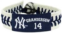 New York Yankees Bracelet Genuine Baseball Curtis Granderson