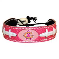 Chicago Bears Bracelet Breast Cancer Awareness Ribbon Pink Football