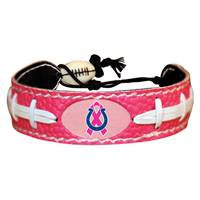 Indianapolis Colts Bracelet Pink Football Breast Cancer Awareness Ribbon