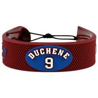Colorado Avalanche Bracelet Team Color Jersey Matt Duchene Design