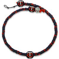 Minnesota Twins Team Color Frozen Rope Baseball Necklace