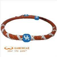Kentucky Wildcats Necklace Spiral Football