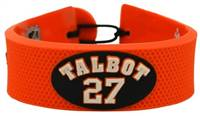 Philadelphia Flyers Bracelet Team Color Jersey Maxime Talbot Design