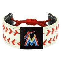 Miami Marlins Bracelet Classic Two Seamer