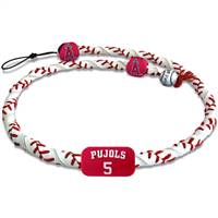 Los Angeles Angels Necklace Spiral Baseball Albert Pujols
