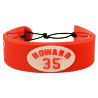 Detroit Red Wings Bracelet Team Color Jersey Jimmy Howard Design