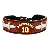 Washington Redskins Bracelet Classic Football Robert Griffin III Design