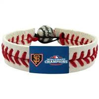 San Francisco Giants Bracelet Classic Baseball 2012 World Series Champ