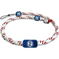 New York Yankees Necklace Frozen Rope Classic Baseball Derek Jeter Retirement