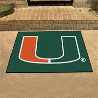 "Miami Hurricanes All-Star Rug 34""x45"""