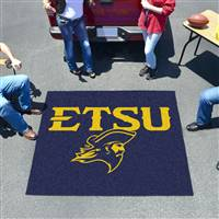 "East Tennessee State Buccaneers Tailgater Rug 60""x72"""