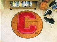 "Cornell University Basketball Rug 29"" diameter"