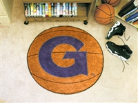 "Georgetown Hoyas Basketball Rug 29"" diameter"