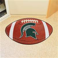 "Michigan State Spartans Football Rug 22""x35"""